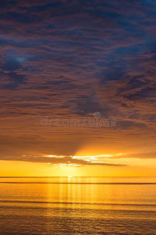 Free Spectacular Sunset Nature Background Royalty Free Stock Images - 110890649