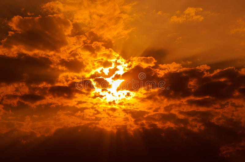 Download Spectacular sunset/sunrise stock photo. Image of divine - 22069884