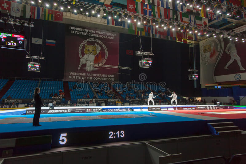 Download Spectators And Athletes On Championship Of World In Fencing Editorial Stock Photo - Image: 30756893