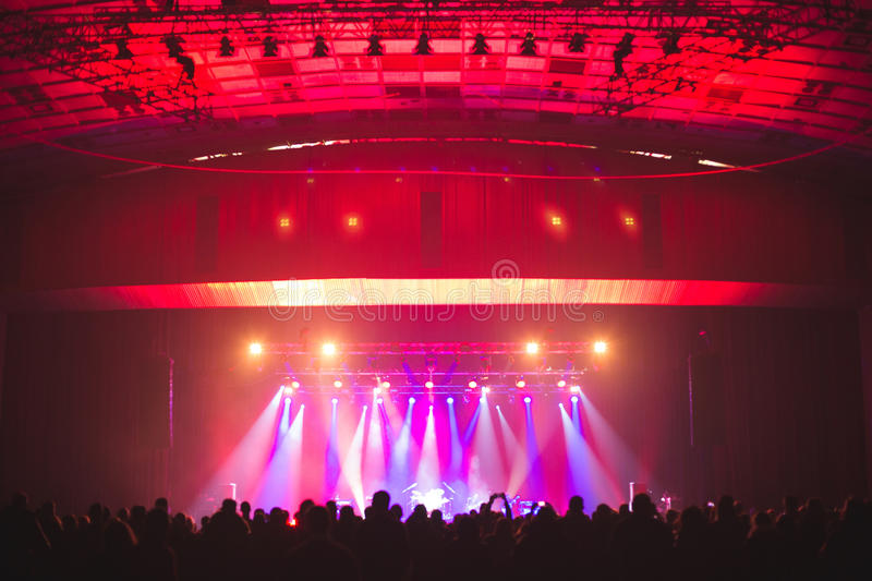 Download Spectators In The Large Concert Hall. Stock Photo - Image: 83701624