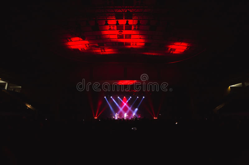 Download Spectators In The Large Concert Hall. Stock Photo - Image: 83702162