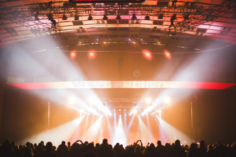 Download Spectators In The Large Concert Hall. Stock Photo - Image: 83702308