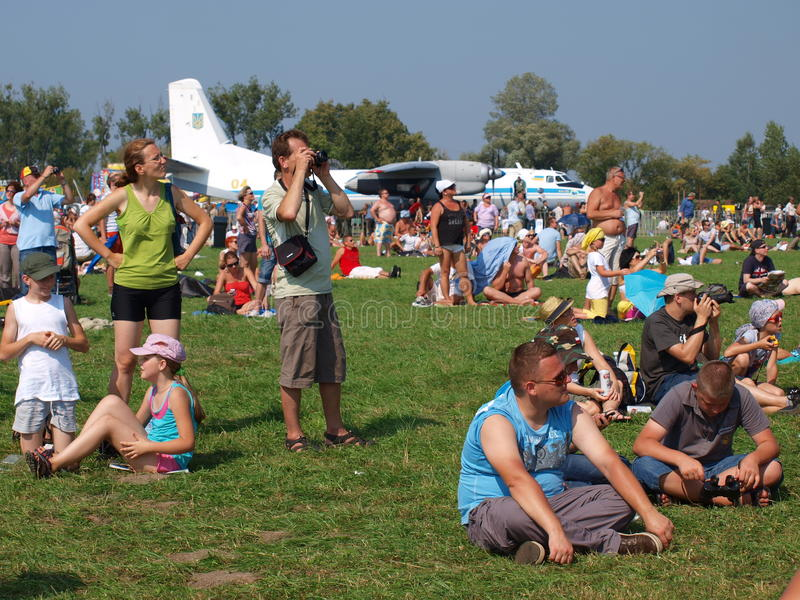 Download Spectators, Radom, Poland editorial stock photo. Image of radom - 20919348