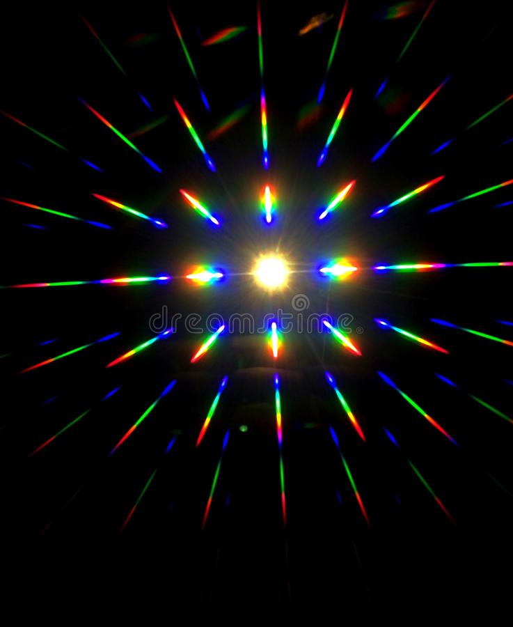 Spectral light paper royalty free stock photo