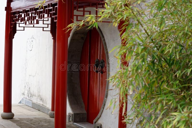 Spectre arqué de porte-Qingyun image libre de droits