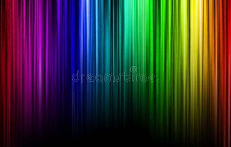 Spectre de couleurs illustration de vecteur