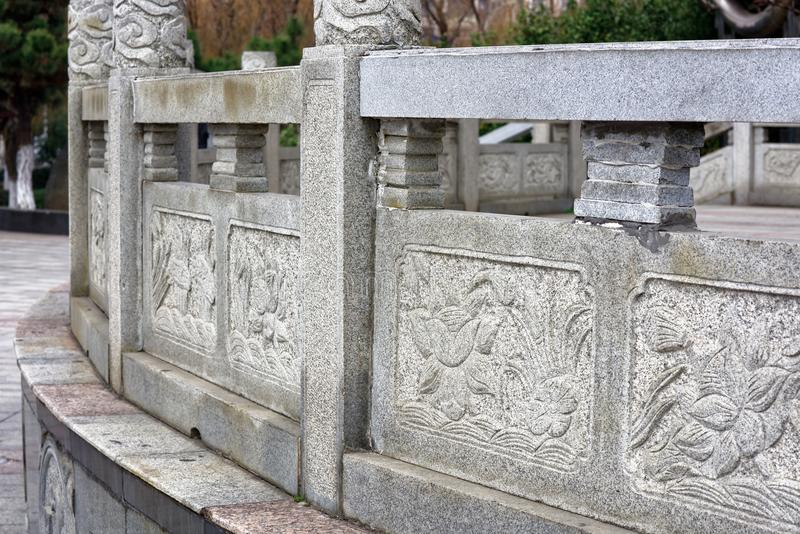 Spectre de découpage en pierre de modèle-Qingyun images libres de droits