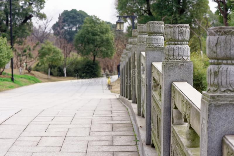 Spectre de découpage en pierre de modèle-Qingyun image libre de droits