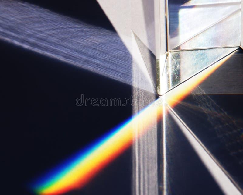 Spectre et prisme photo libre de droits