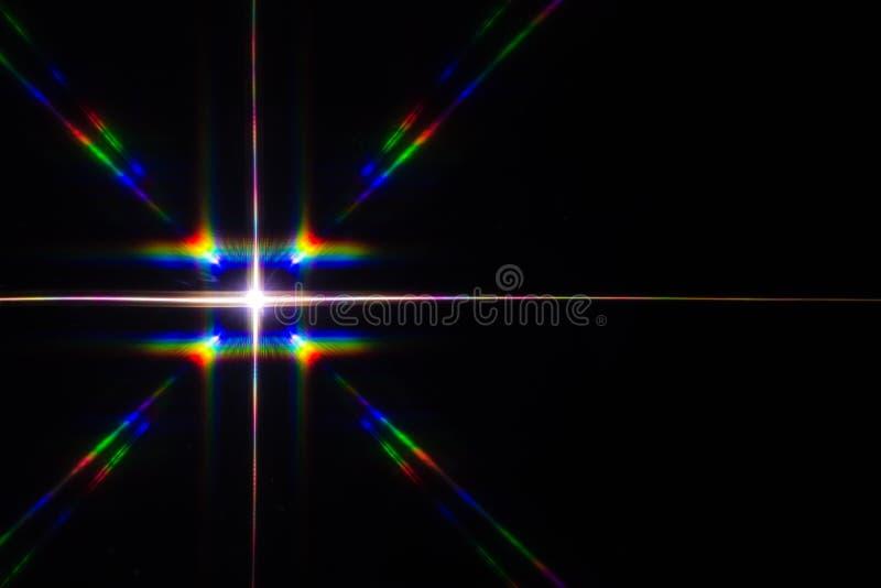 Spectre lumineux image libre de droits