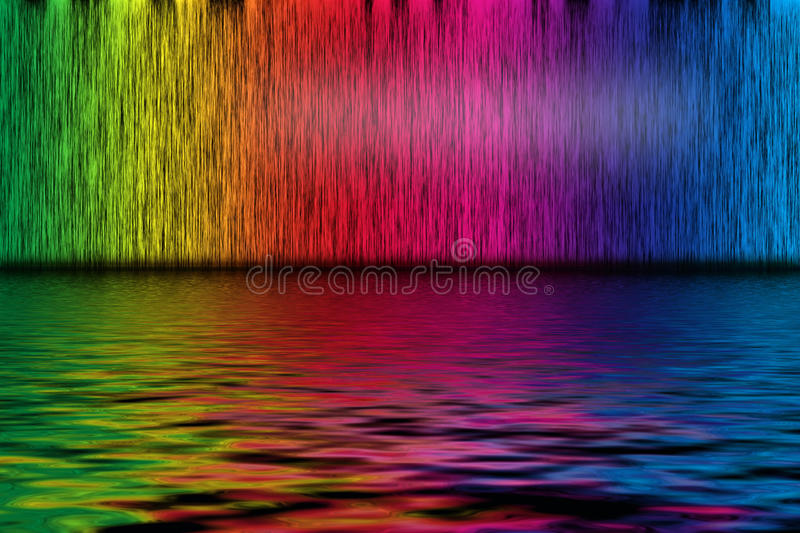 Spectrum background royalty free illustration