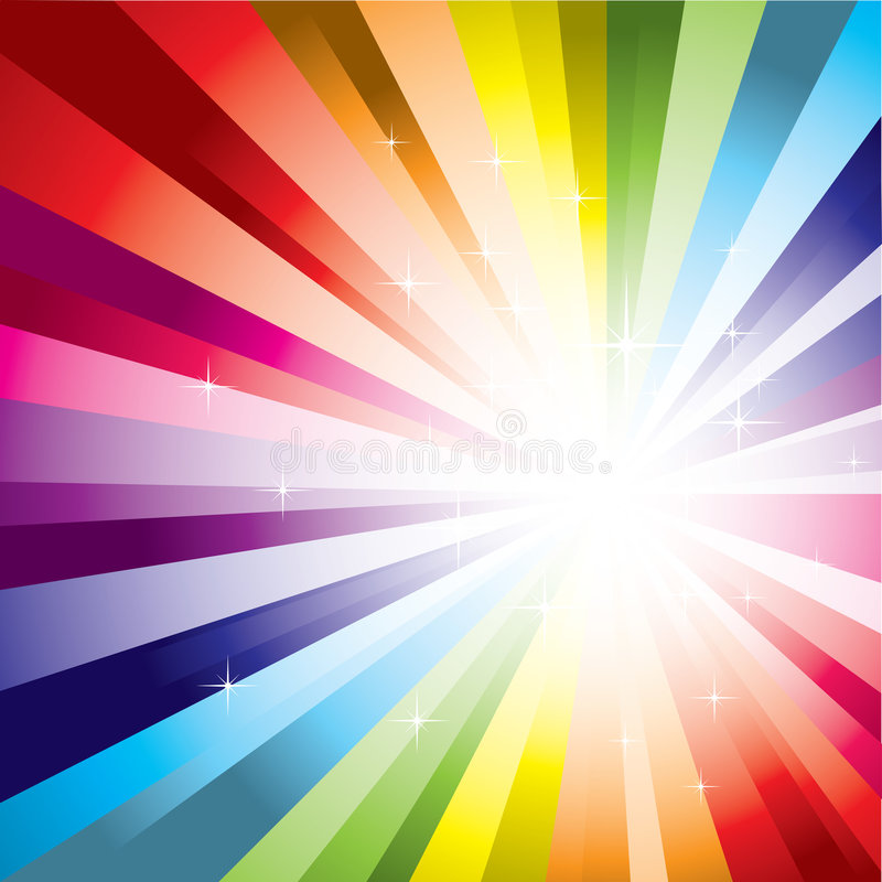Spectrum Background vector illustration