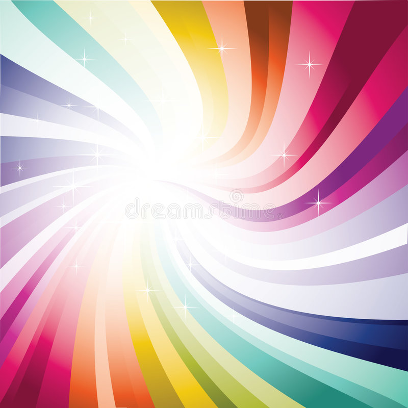 Spectrum Background stock illustration