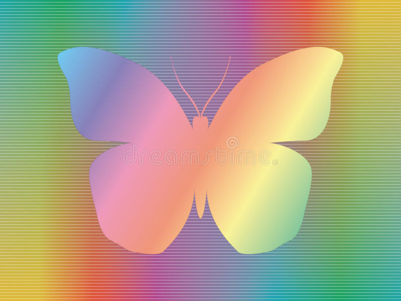 Download Spectrum butterfly stock image. Image of hologram, colorful - 28971757