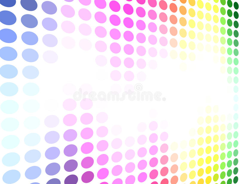 Spectrum Colored Background Stock Photos