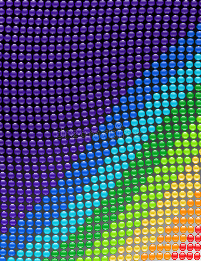Download Spectrum Glass Buttons Wave Stock Image - Image: 22758121