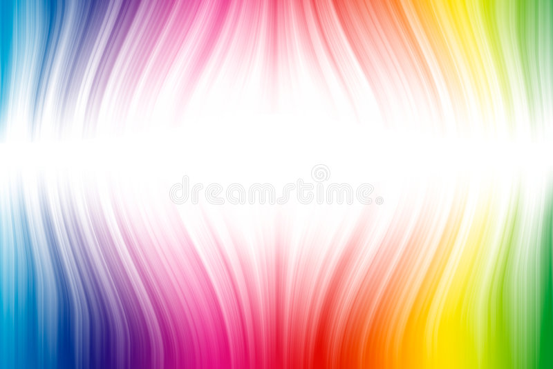 Download Spectrum lines on white stock illustration. Image of templates - 8498934