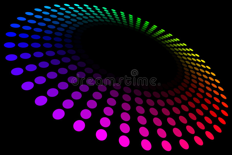 Spectrum Ring Royalty Free Stock Photography