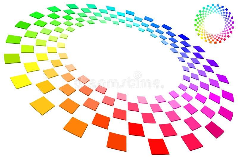 Spectrum Ring stock illustration