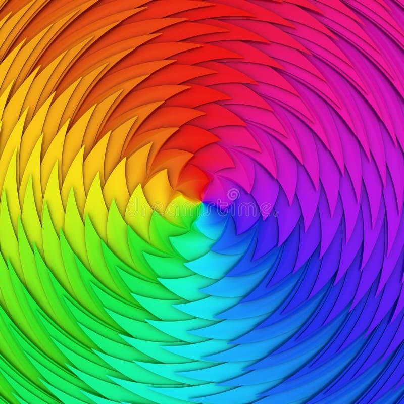 Download Spectrum scale stock illustration. Image of vivid, pattern - 28701803