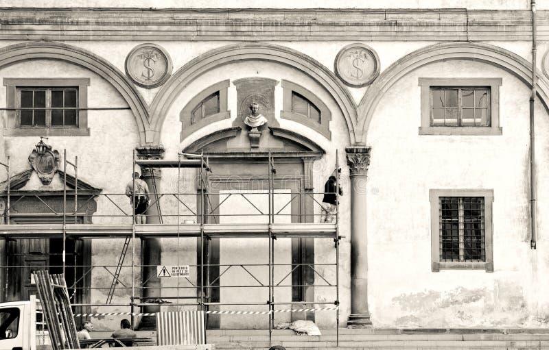 Spedale-degli Innocenti, Florence stock foto's