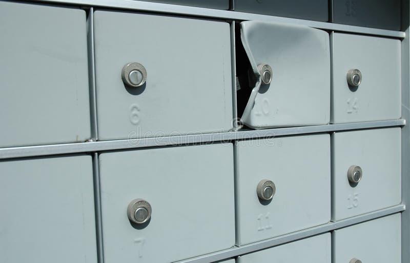 Spedica il furto immagini stock