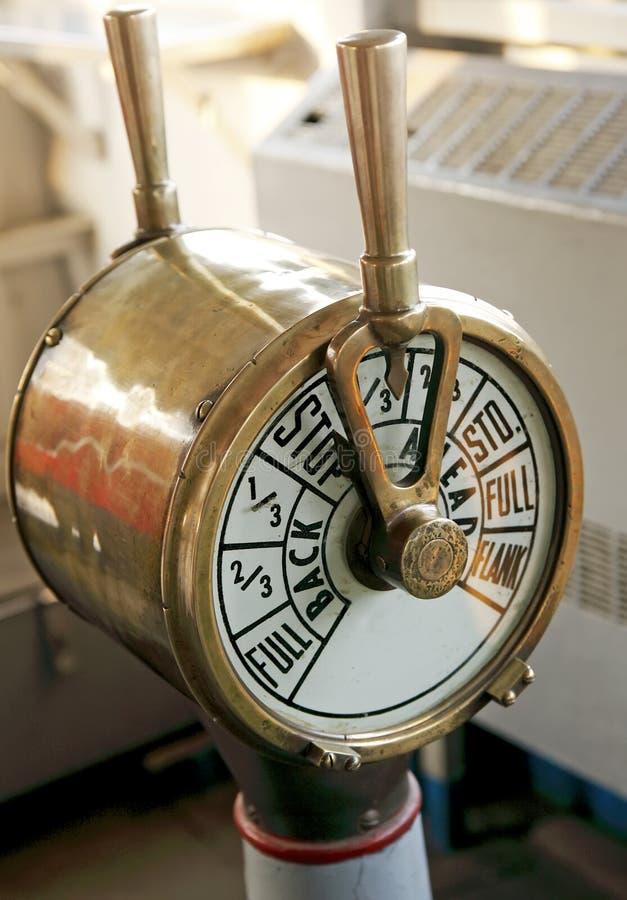 Spedica il telegrafo del motore fotografie stock libere da diritti