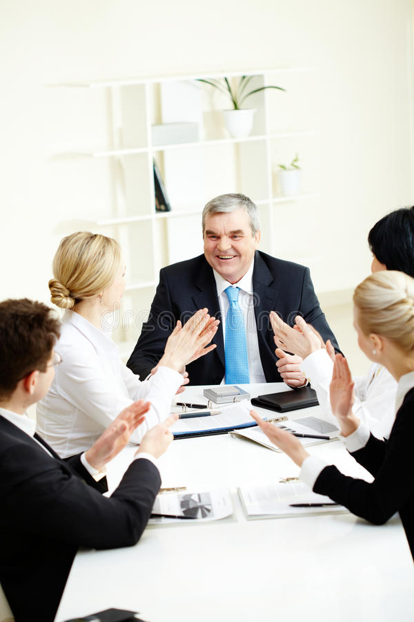 Download After Speech Royalty Free Stock Photo - Image: 13370455