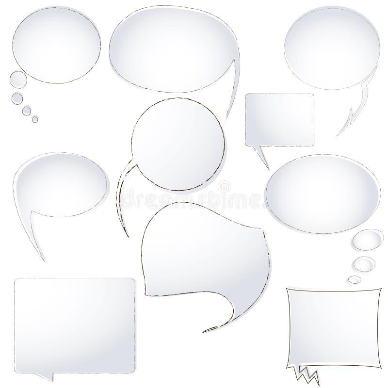 Download Speech Announcement Bubbles Stock Vector - Image: 11659978