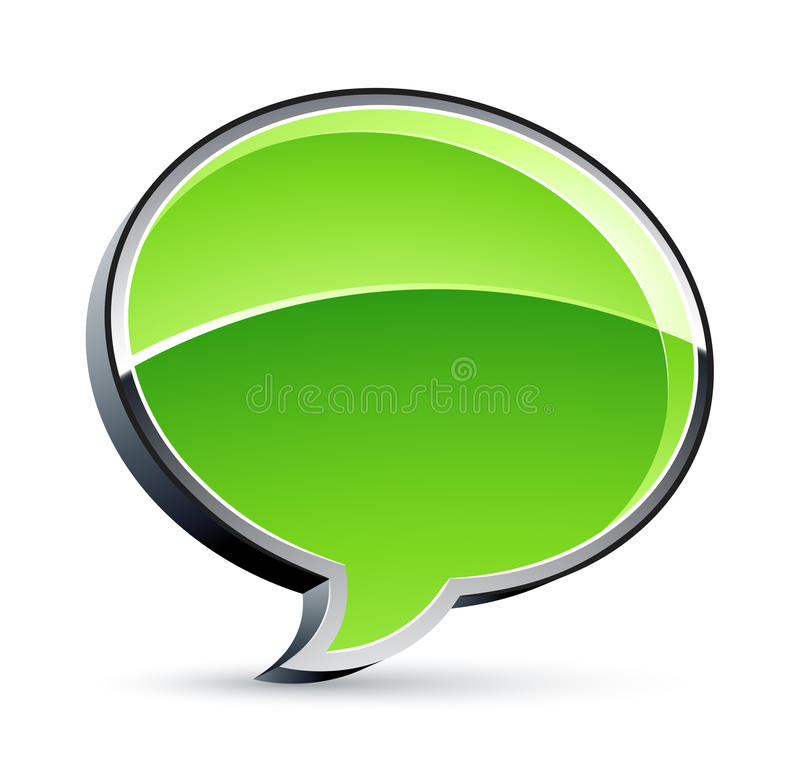 Download Speech Bubble stock vector. Image of glossy, concepts - 11787071