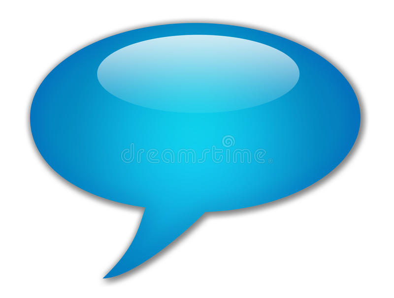 Download Speech bubble stock illustration. Image of comment, communication - 16846675