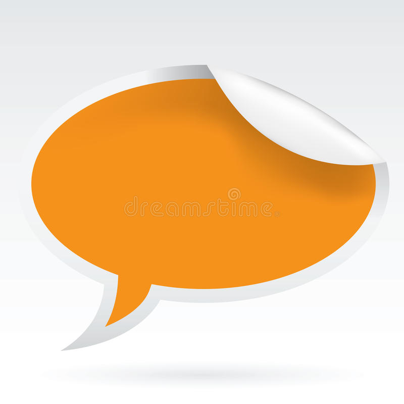 Download Speech Bubble stock vector. Image of communicate, gratitude - 21523177