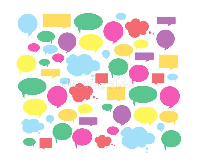 Speech bubble stock illustration