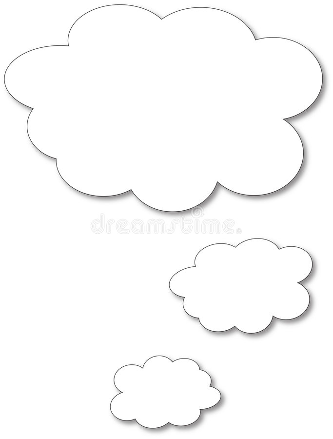 Download Speech bubble stock vector. Illustration of drawing, bubble - 843565