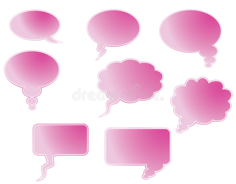 Download Speech bubble stock vector. Image of colour, cartoon, illustration - 8933320