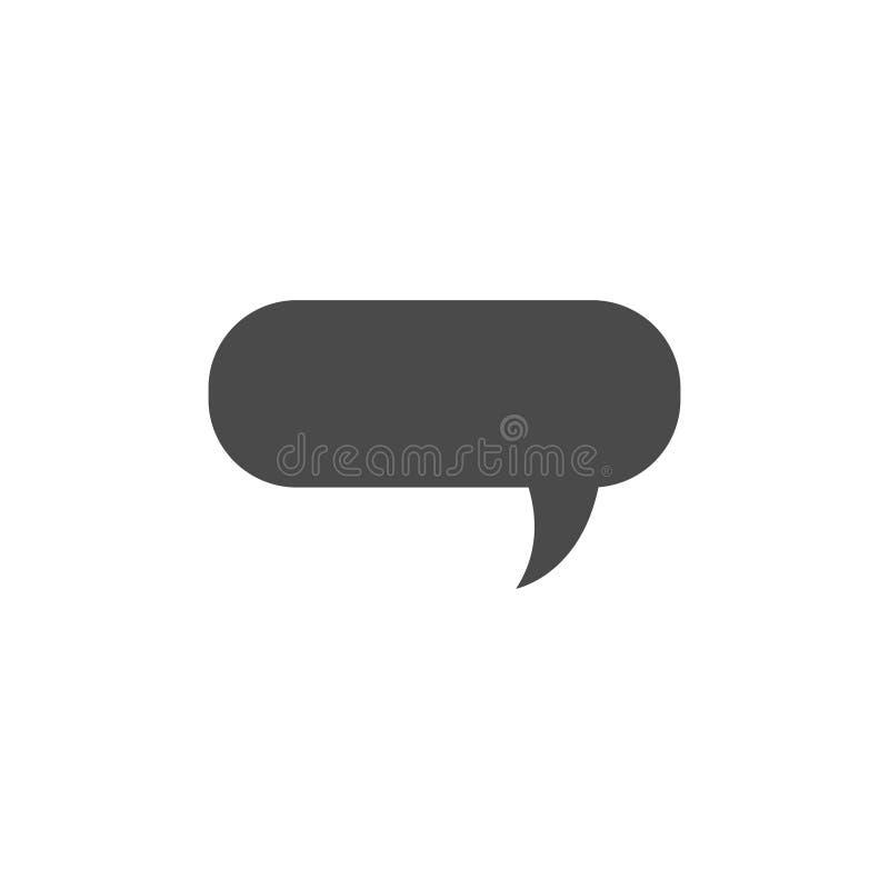 Speech bubble, speech balloon, chat bubble vector icon for apps and websites. Design, symbol, illustration, talk, speak, shape, communication, comic, dialog vector illustration