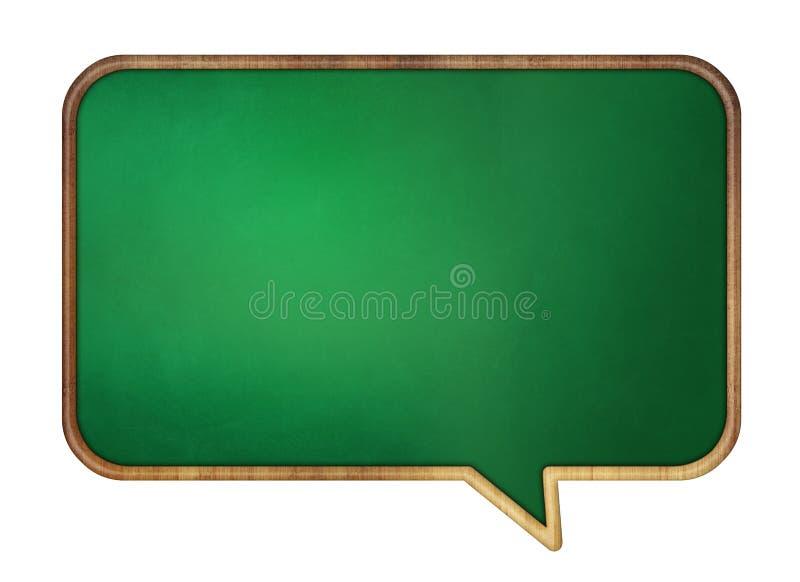 Speech Bubble Desk stock illustration