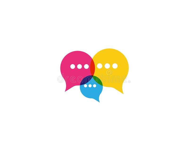 speech bubble icon vector royalty free illustration