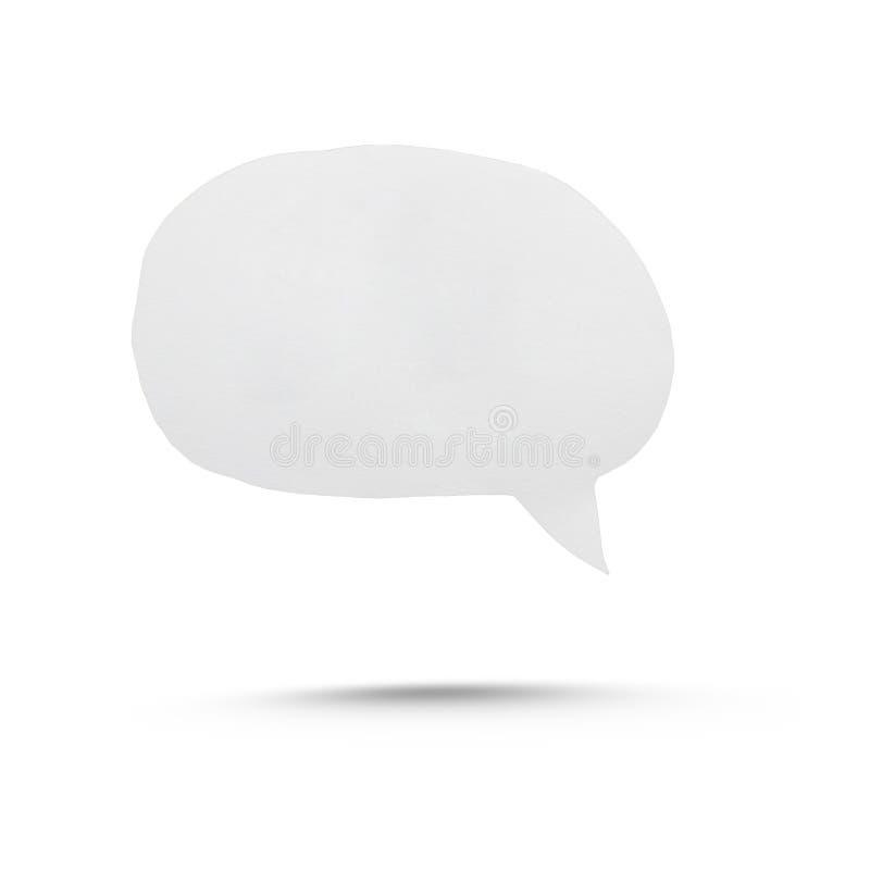 Speech bubble stock image