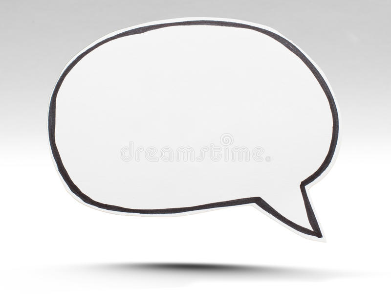 Speech bubble royalty free stock image