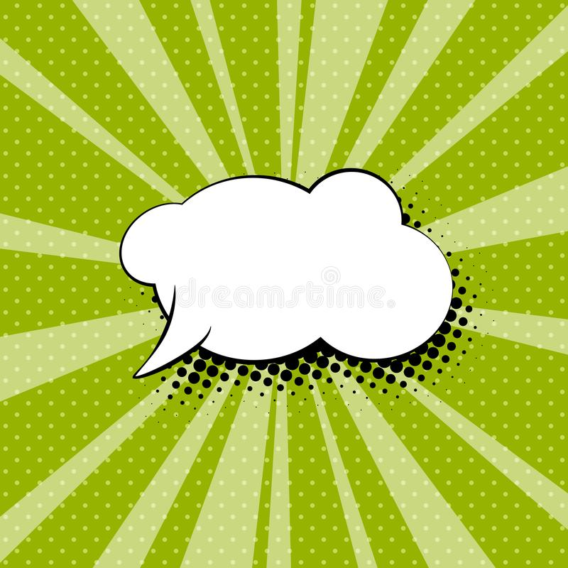 Speech Bubble for a Quote vector illustration