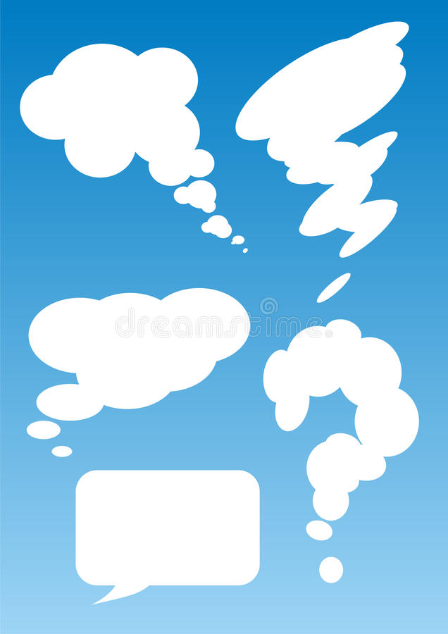 Download Speech bubbles stock vector. Image of bubbles, cartoon - 15047770