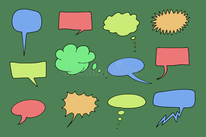 Download Speech Bubbles Royalty Free Stock Photos - Image: 20617528