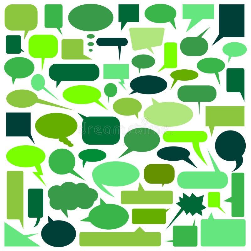 Download Speech Bubbles stock vector. Illustration of contemplation - 21324933