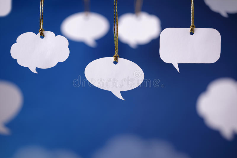 Download Speech bubbles stock photo. Image of gathering, talking - 23931164