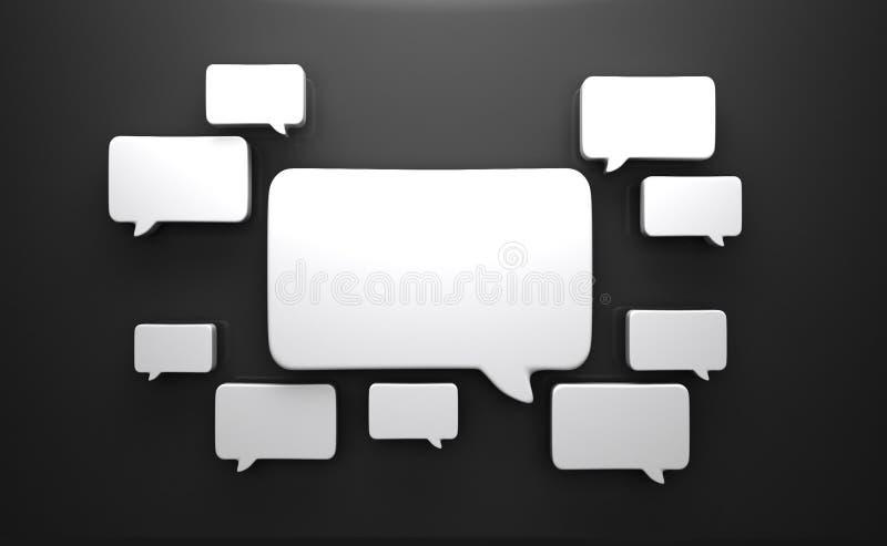 Speech Bubbles Royalty Free Stock Image