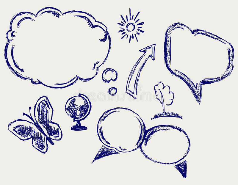 Download Speech Bubbles Royalty Free Stock Photo - Image: 26595775