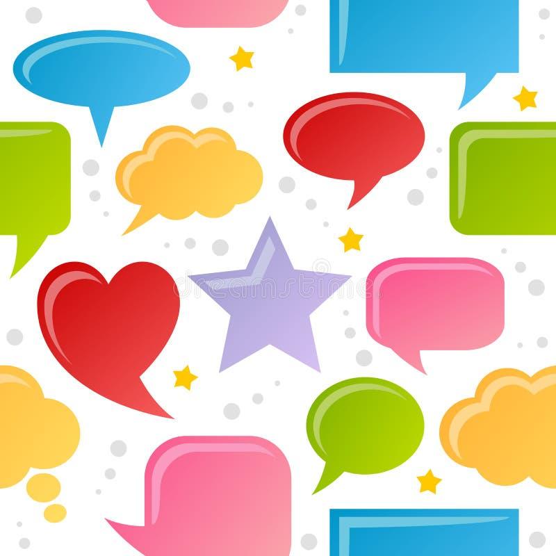 Download Speech Bubbles Seamless Pattern Stock Photos - Image: 36283293