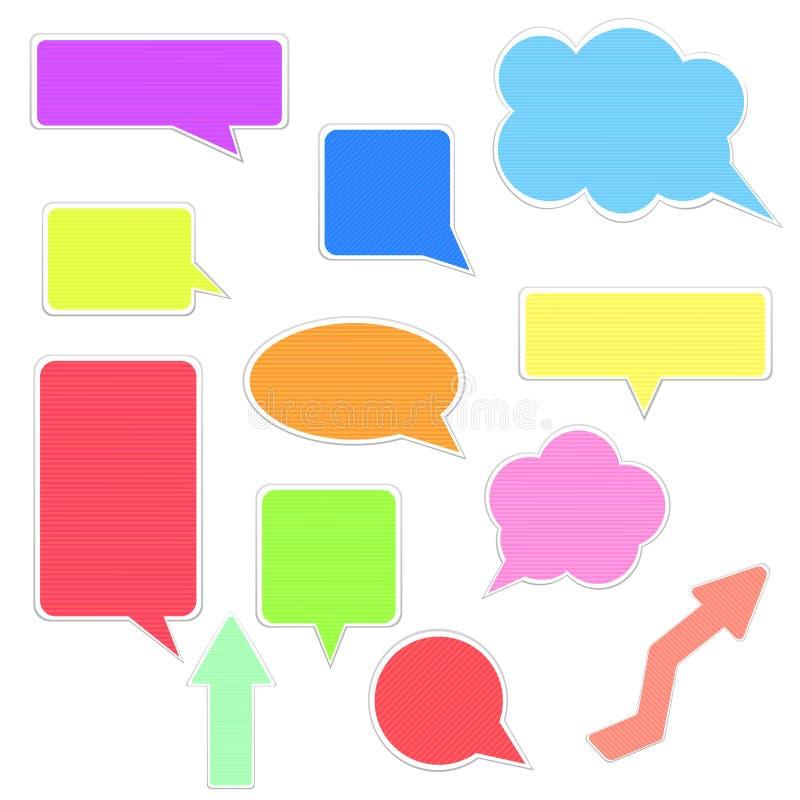Download Speech bubbles set stock vector. Illustration of comics - 21821265