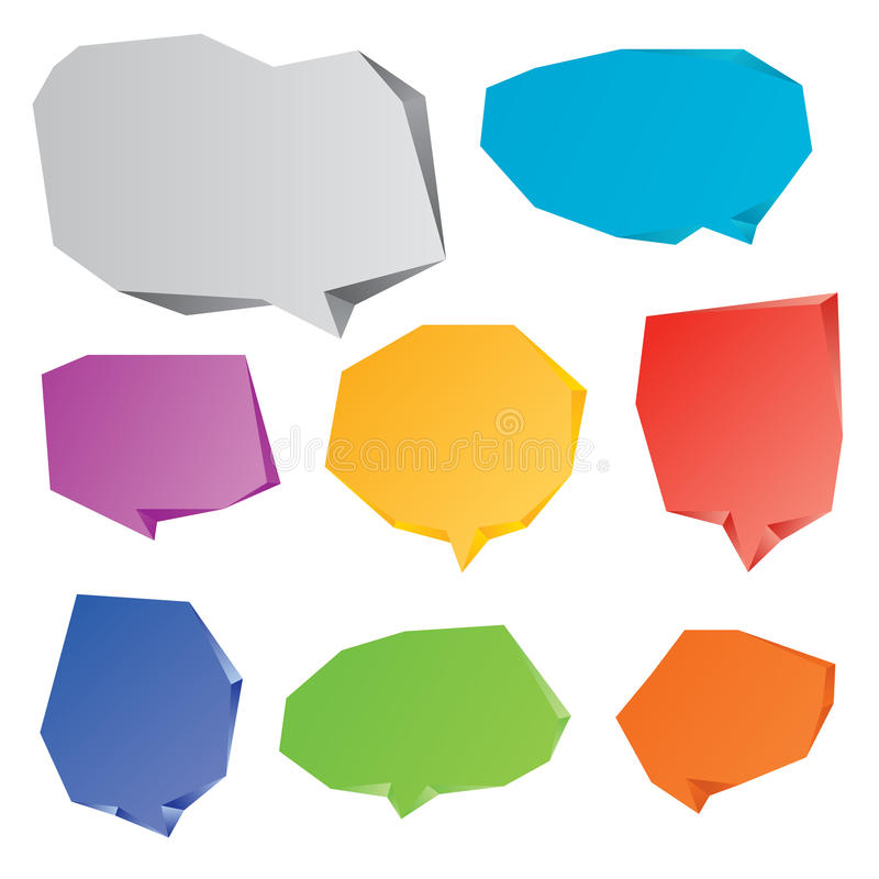 Download Speech Bubbles Set Stock Image - Image: 33601541